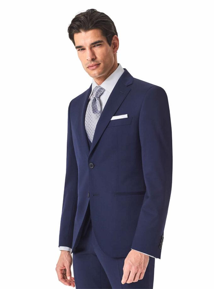 abito bluette uomo sposo 2022