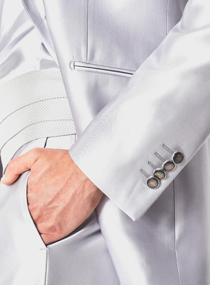 abito cerimonia uomo con fascia beach wedding