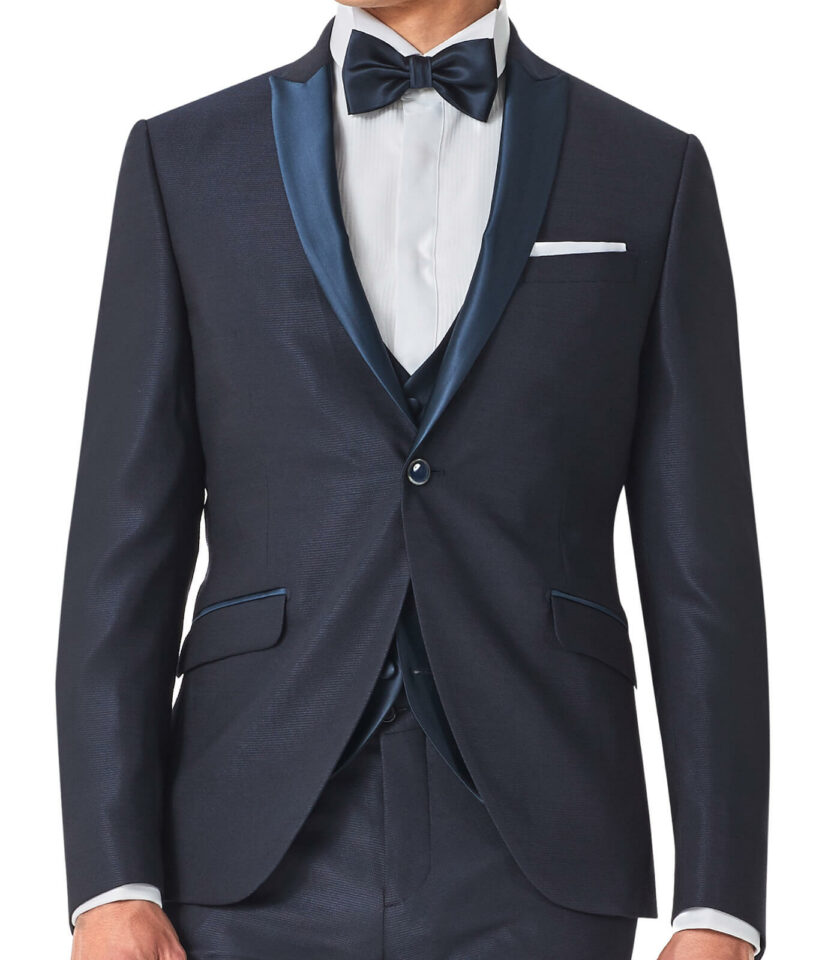 giacca uomo rever a lancia blu 2022
