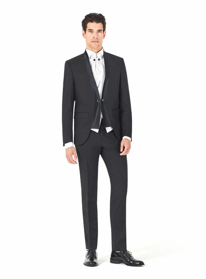 abito nero cerimonia uomo 2022