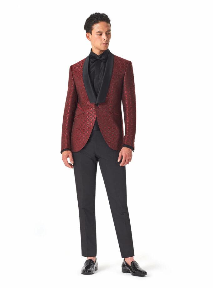 abito rosso fantasia versali messico 2022