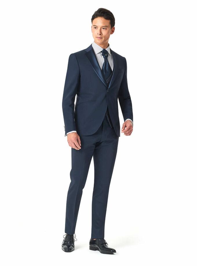 abito uomo cerimonia blu versali