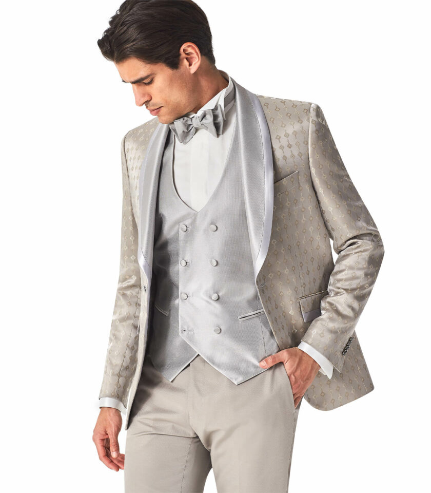 man beach wedding shawl jacket
