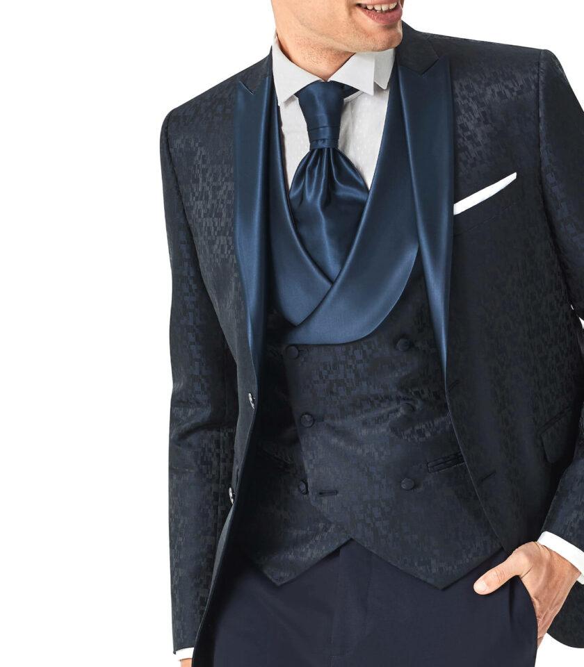 giacca uomo con gilet doppio petto