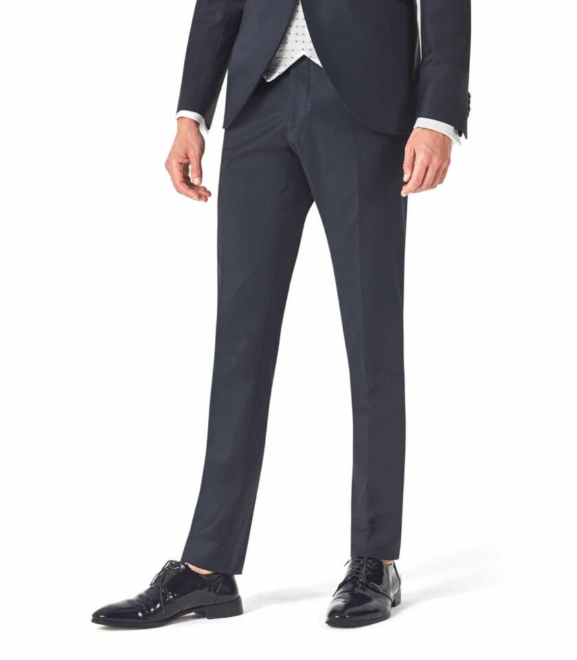 pantalone uomo cerimonia blu 2022