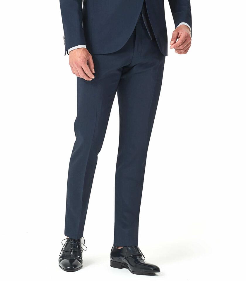 pantalone blu uomo cerimonia