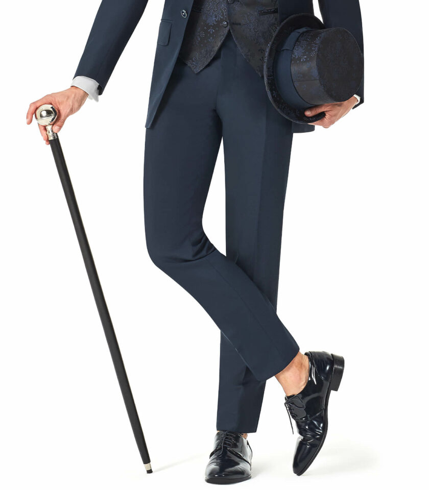 pantalone cilindro e bastone andrea versali