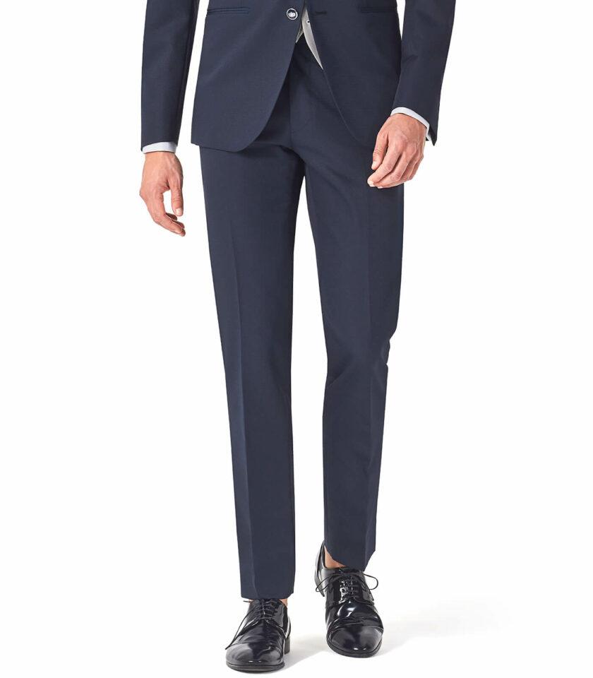 pantalone blu uomo cerimonia Andrea Versali 2022