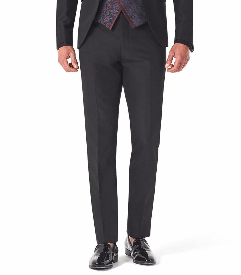 pantalone nero uomo cerimonia 2022 elegante