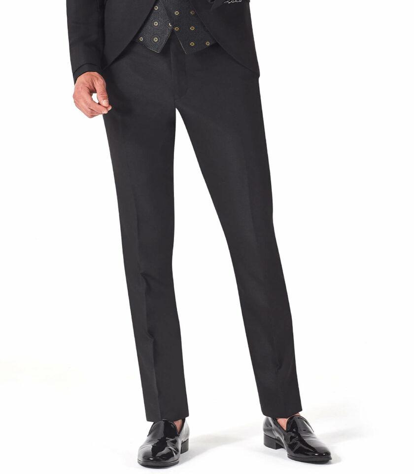 pantalone nero uomo elegante versali 2022