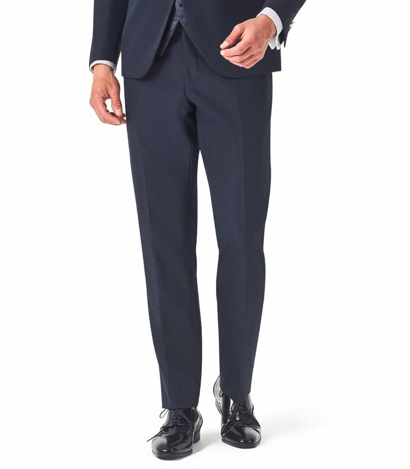 pantalone uomo blu cerimonia