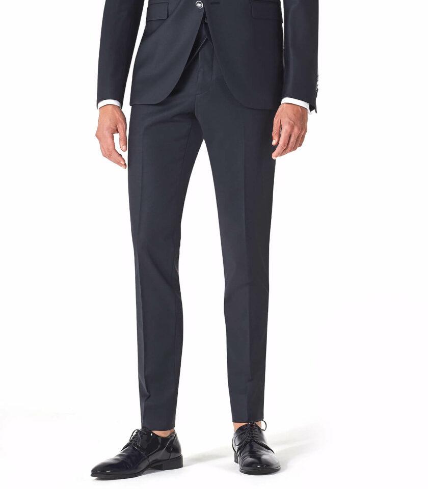 pantalone uomo blu elegnate versali 2022