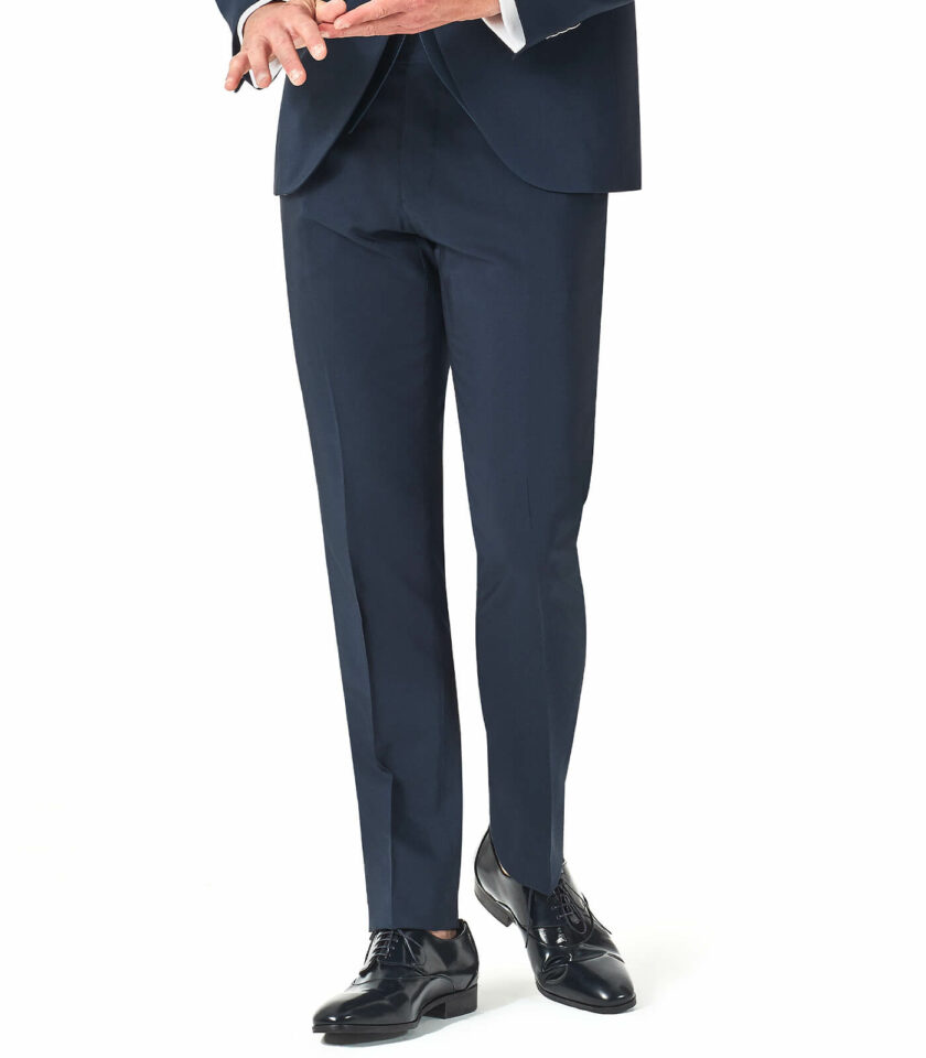 pantalone uomo blu cerimonia Andrea Versali 2022