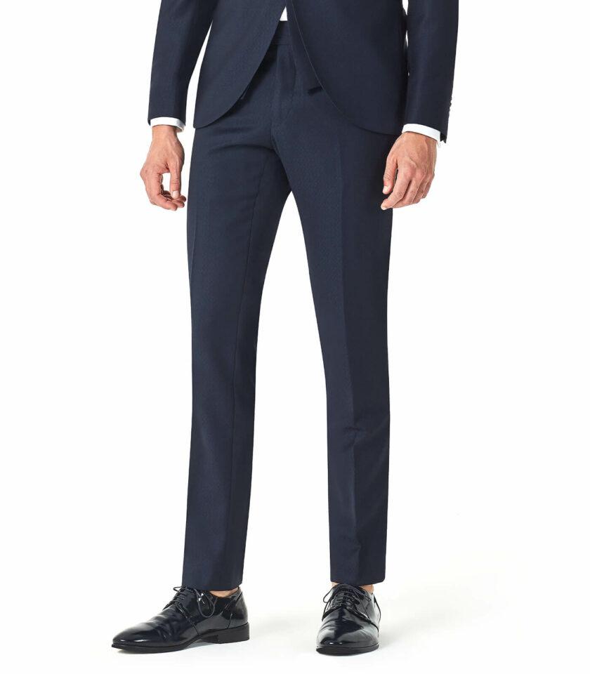 pantalone uomo blu sposo 2022 versali