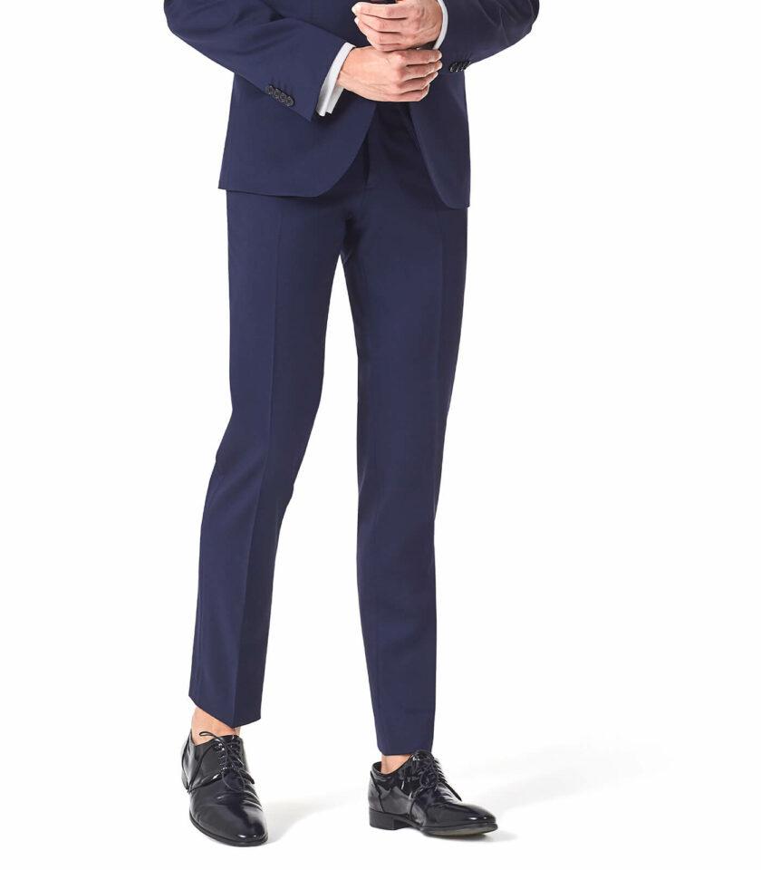 pantalone uomo bluette cerimonia