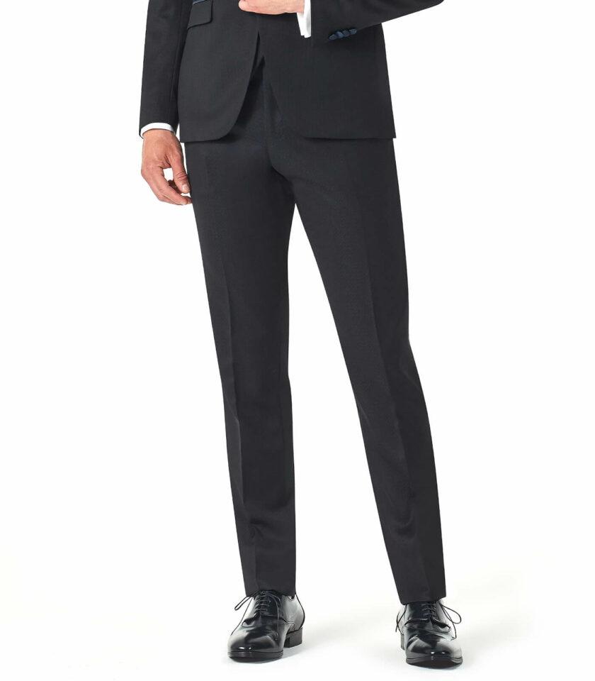 pantalone uomo elegante blu