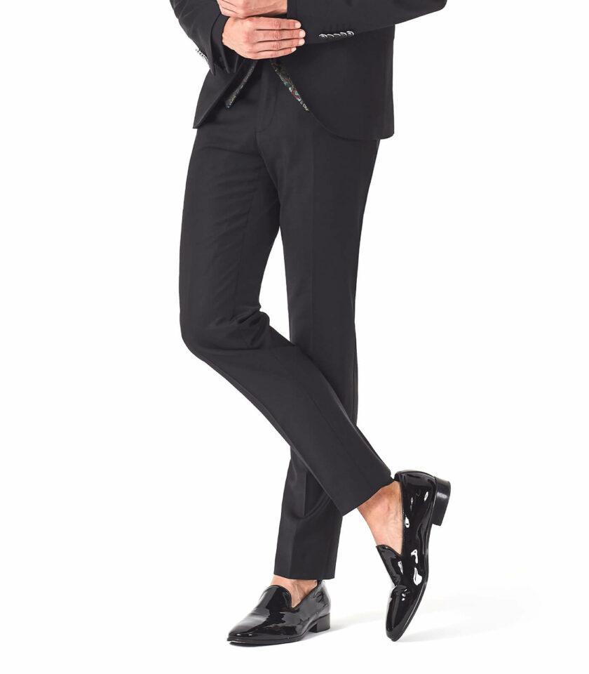 pantalone nero uomo cerimonia elegante