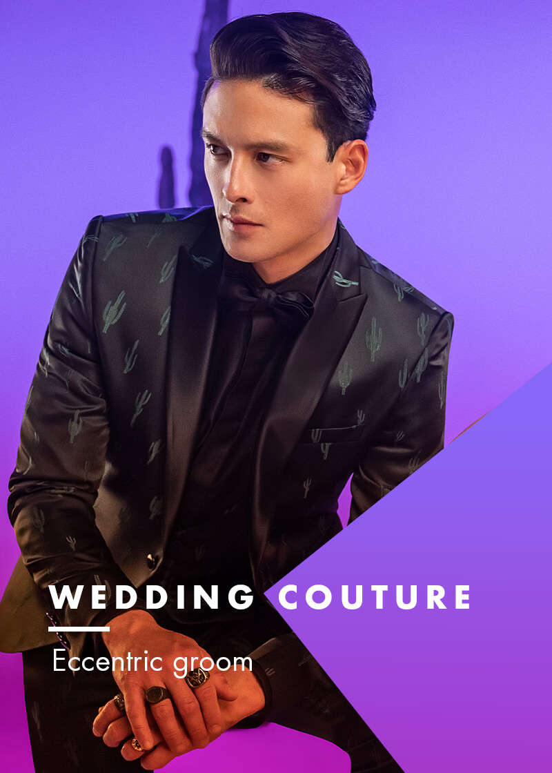 Versali eccentric groom - Couture suits
