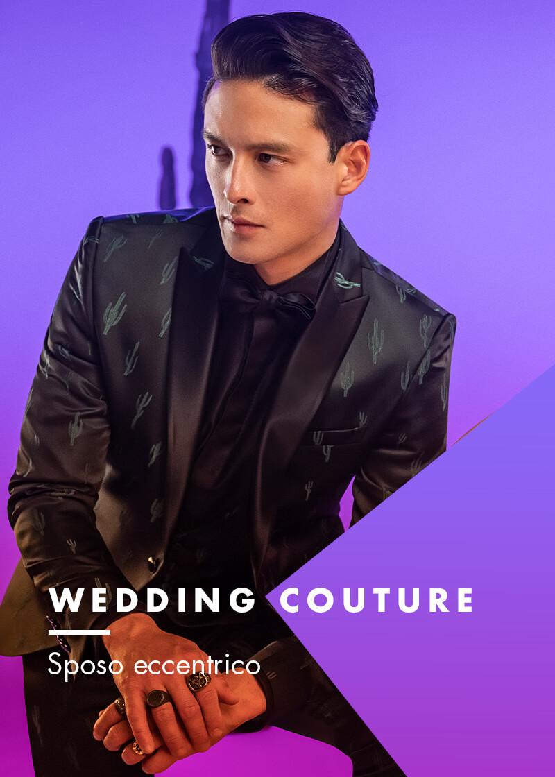 wedding couture versali sposo eccentrico 2022